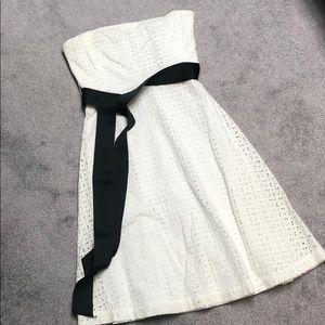 New York & company white eyelet dress
